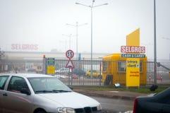 Selgros hypermarket Stock Image