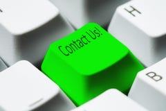 Seli metta in contatto con! Fotografia Stock Libera da Diritti