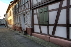 Seligenstadt Alley Stock Photos