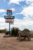 SELIGMAN, ARIZONA Image stock