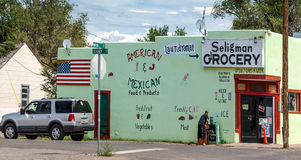 SELIGMAN, ARIZONA/USA - 31 ΙΟΥΛΊΟΥ: Μανάβικο σε Seligman Ariz Στοκ εικόνες με δικαίωμα ελεύθερης χρήσης