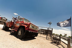 SELIGMAN - Chevrolet Tow Truck parked along Route 66 Royalty Free Stock Image