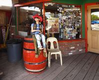 Seligman Store, Route 66, Arizona Tourist Attraction, USA stock image