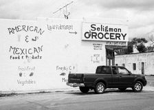 Seligman livsmedelsbutik Royaltyfri Fotografi