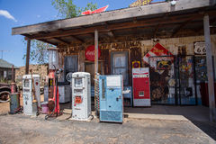 Hackberry Route 66 Stock Image