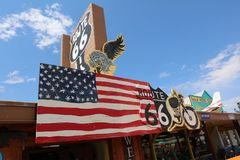 Seligman on Route 66 Stock Image