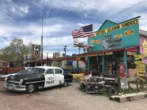 Seligman sundries at Route66 Royalty Free Stock Photography