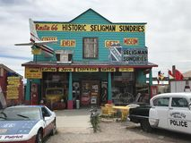 Seligman sundries at Route66 USA Stock Images