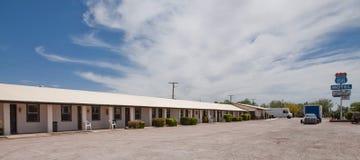 SELIGMAN - Traditionelles Motel entlang Route 66 Lizenzfreies Stockfoto