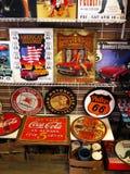 Seligman, trasa 66, Arizona atrakcja turystyczna, usa zdjęcia stock