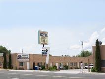 Seligman uma cidade em Route 66 Seligman está em Yavapai County, o Arizona, Estados Unidos Imagens de Stock Royalty Free