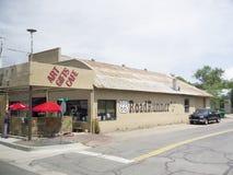 Seligman uma cidade em Route 66 Seligman está em Yavapai County, o Arizona, Estados Unidos Fotos de Stock