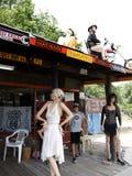 Seligman uma cidade em Route 66 Seligman está em Yavapai County, o Arizona, Estados Unidos Fotos de Stock Royalty Free