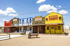 The Historic Seligman depot on Route 66 Stock Photography