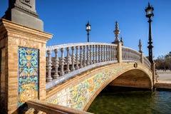 Selille, place de Plaza de Espana Espagne, Andalousie l'espagne Photos stock