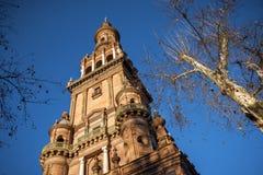 Selille, place de Plaza de Espana Espagne, Andalousie l'espagne Image stock