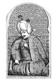 Selim I, engraving middle ' 800 Royalty Free Stock Images