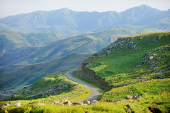 Selim Pass. Selim mountain pass in Armenia, part of the ancient Silk Road Royalty Free Stock Photography