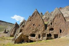 Selime and Ihlara valley in Cappadocia, Anatolia, Turkey Royalty Free Stock Photo