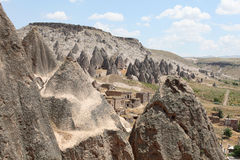 Selime monastery. Cappadocia Stock Photo