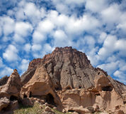 Selime Monastery in Cappadocia, Central Anatolia, Turkey Royalty Free Stock Images