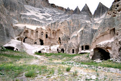 Selime Monastery Cave Complex Stock Images