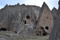 Selime Monastery Cave Complex Stock Image