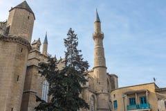 Selimiye清真寺,尼科西亚,北部塞浦路斯 库存图片