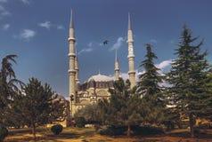 Selimiye清真寺,爱迪尔内,土耳其 免版税图库摄影