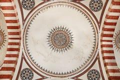 Selimiye清真寺,爱迪尔内-门廓 免版税库存图片