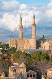 Selimiye清真寺(圣索菲娅大教堂) 塞浦路斯尼科西亚 图库摄影