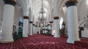 Selimiye清真寺st sophia大教堂尼科西亚 库存图片