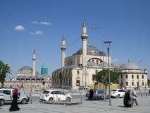 Selimiye è una moschea a cupola costruita sotto Sultan Selim II fra 1566 e 1574 immagine stock libera da diritti