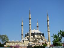 Selimiye meczet w Edirne Turcja Obraz Stock
