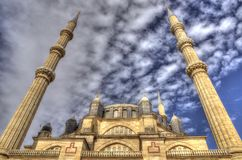 Selimiye minarety i meczet fotografia royalty free