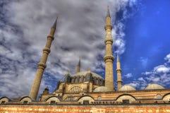 Selimiye minarety i meczet zdjęcie royalty free
