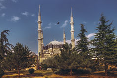 Selimiye moské, Edirne, Turkiet Royaltyfri Fotografi