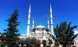 Selimiye moské Edirne, Turkiet Fotografering för Bildbyråer