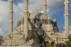 Selimiye moské i Edirne Fotografering för Bildbyråer