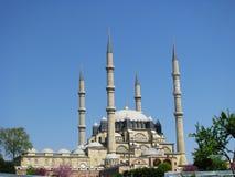Selimiye moské i Edirne Turkiet Fotografering för Bildbyråer