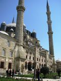 Selimiye Mosque in Edirne Turkey Royalty Free Stock Image