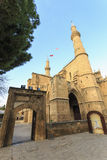 Selimiye Mosque, former Saint Sofia Church, Nicosia, Cyprus Stock Images
