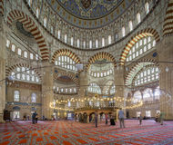 Selimiye Mosque Interior Royalty Free Stock Photo