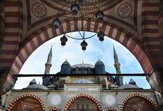 Selimiye Mosque in Edirne royalty free stock images