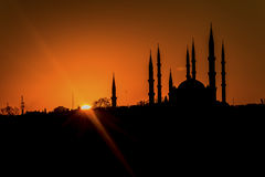 Selimiye Mosque in Sunrise HDR Royalty Free Stock Images