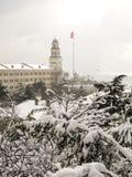Selimiyebarakken in de winter, Istanboel, Turkije Royalty-vrije Stock Afbeelding