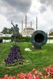 Selimiyemoskee en monument van Ottomane Sultan Mehmed II Mehmed de Veroveraar in stad van Edirne Stock Afbeeldingen