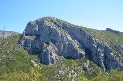Selina, Croazia, montagna, Paklenica immagine stock