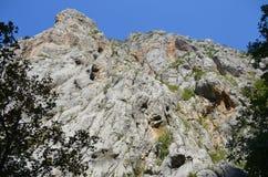 Selina, Croazia, montagna, Paklenica Fotografia Stock Libera da Diritti