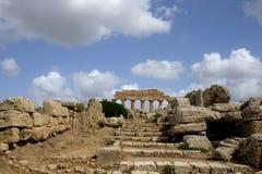 Selinunte, Σικελία Ιταλία Στοκ εικόνες με δικαίωμα ελεύθερης χρήσης